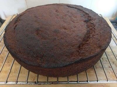 How to bake a banana cake. Banana Cake - Step 22