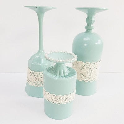 How to make a decoration. Vintage Spring: Diy Table Decoration - Step 7