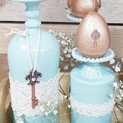 How to make a decoration. Vintage Spring: Diy Table Decoration - Step 8