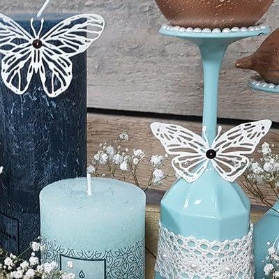 How to make a decoration. Vintage Spring: Diy Table Decoration - Step 9