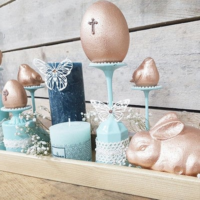 How to make a decoration. Vintage Spring: Diy Table Decoration - Step 10