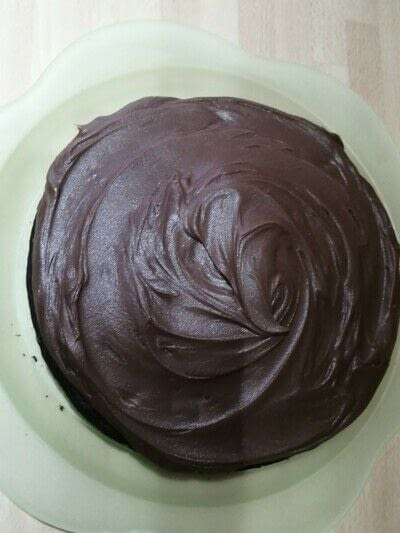 How to bake a chocolate cake. Chocolate Cake with Ganache Frosting  - Step 5