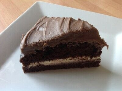 How to bake a chocolate cake. Chocolate Cake with Ganache Frosting  - Step 6