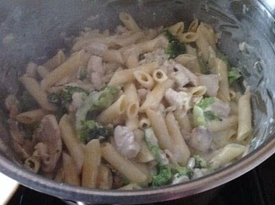 How to cook a casserole / bake. Chicken & Broccoli Pasta Bake - Step 3