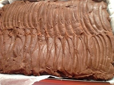 How to bake a brownie. Cosmic Brownies  - Step 8