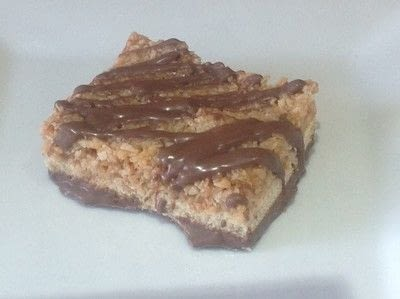 How to bake a bar / slice. Samoas Bars - Step 11