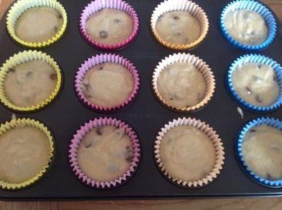 How to bake a muffin. Irish Cream Muffins  - Step 5