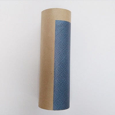 How to make a piece of paper art. Father's Day Bottle Sleeve Gift - Step 5