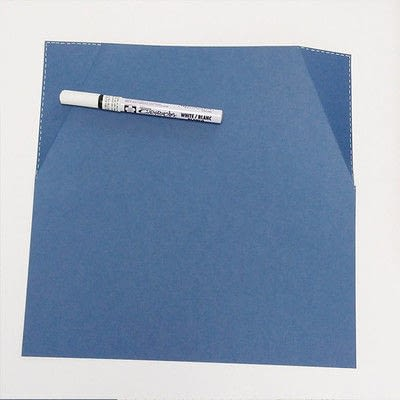 How to make a piece of paper art. Father's Day Bottle Sleeve Gift - Step 7