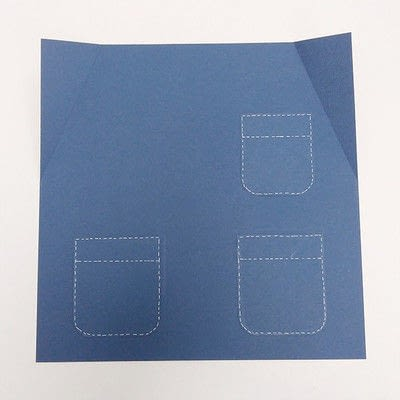 How to make a piece of paper art. Father's Day Bottle Sleeve Gift - Step 9