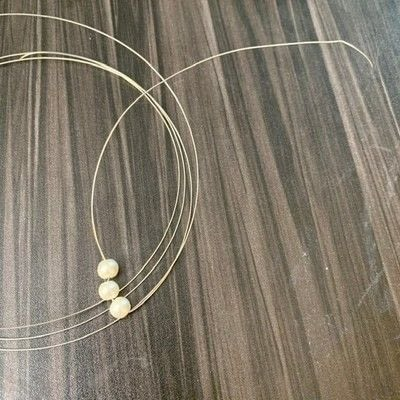 How to make a wire wrapped pendant. Easy Diy Wire Wrapped Bird's Nest Necklace - Step 2