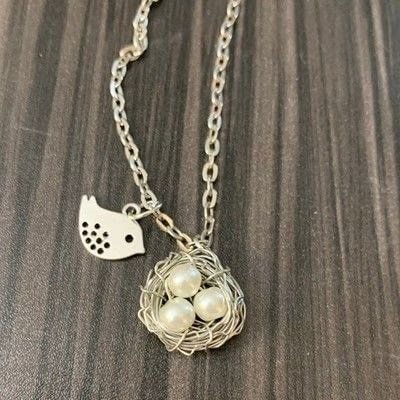 How to make a wire wrapped pendant. Easy Diy Wire Wrapped Bird's Nest Necklace - Step 18