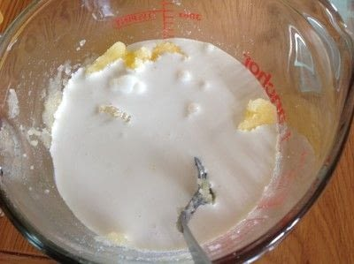 How to bake a sweet pie / sweet tart. George Clooneys Favourite Pie - Step 2