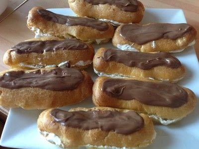 How to cook a baked treat. Chocolate Eclair  - Step 7