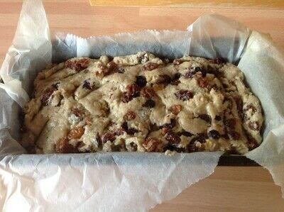 How to bake a fruit loaf. Hobo Bread - Step 5