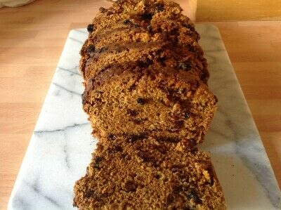 How to bake a fruit loaf. Hobo Bread - Step 6