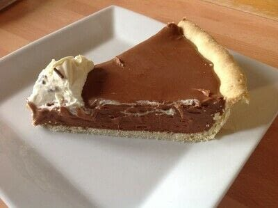 How to bake a chocolate tart. French Silk Pie - Step 12