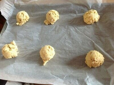 How to bake a chocolate chip cookie. Vermont Maple Cookies  - Step 5