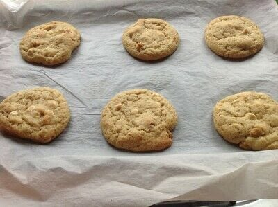 How to bake a chocolate chip cookie. Vermont Maple Cookies  - Step 6