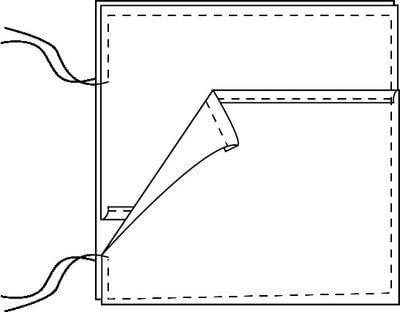 How to sew an applique cushion. Applique Cushion Cover - Step 8