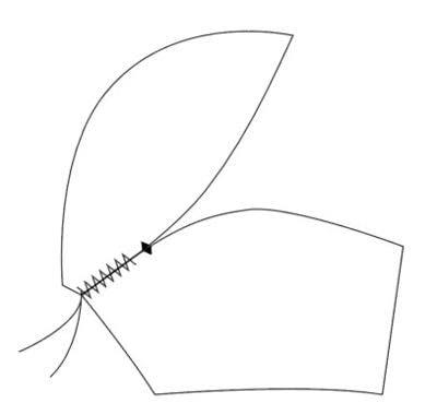 How to make a bra. Vintage Liner Bra - Step 4
