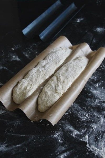 How to bake a baguette. French Baguette - Step 6