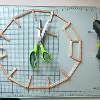 How to make a decoration. Geometric Tortoise - Step 2