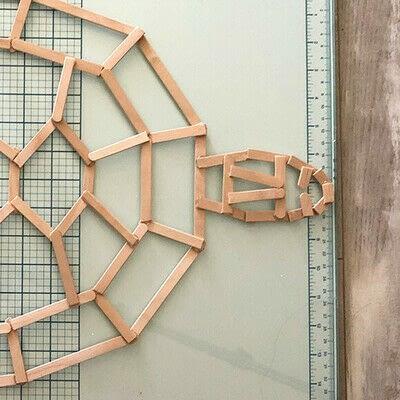 How to make a decoration. Geometric Tortoise - Step 5