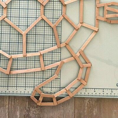 How to make a decoration. Geometric Tortoise - Step 6