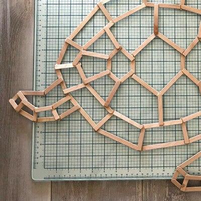 How to make a decoration. Geometric Tortoise - Step 7
