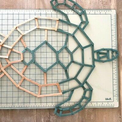 How to make a decoration. Geometric Tortoise - Step 8