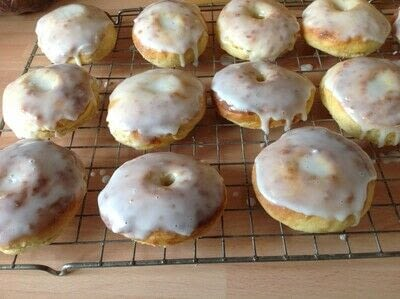 How to cook a baked treat. Overnight Doughnuts  - Step 7