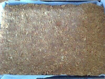 How to bake a bar / slice. Coconut Joy Bars - Step 1