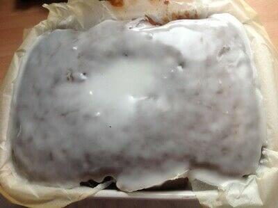 How to bake an apple cake. Apple Sauce Loaf - Step 5