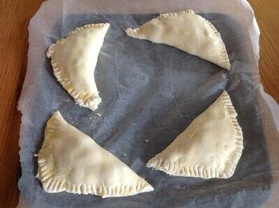 How to bake a pastry. Cherry Turnovers  - Step 5