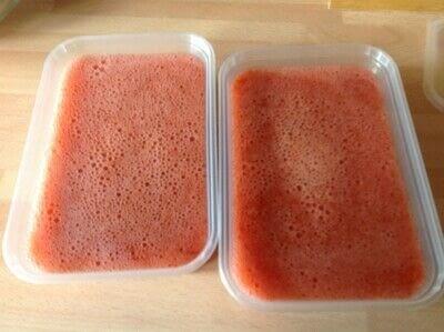 How to make sorbet. Strawberry Sorbet  - Step 5