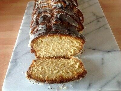 How to bake a cake. Marmalade Loaf Cake - Step 4