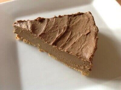 How to bake a sweet pie / sweet tart. Chocolate Avocado Pie - Step 4