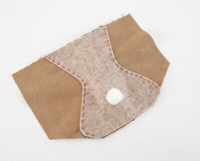 How to make a backpack. Bear Pocket Backpack - Step 4