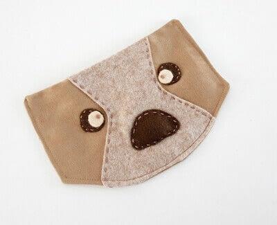 How to make a backpack. Bear Pocket Backpack - Step 9