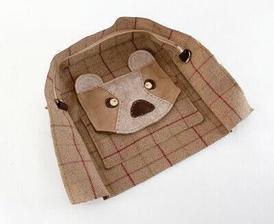 How to make a backpack. Bear Pocket Backpack - Step 14