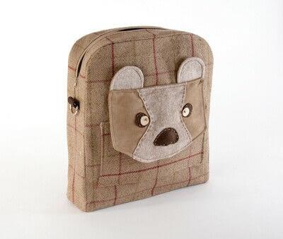 How to make a backpack. Bear Pocket Backpack - Step 16