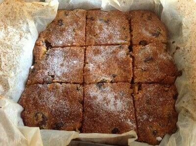 How to bake a bar / slice. Paradise Slice - Step 11