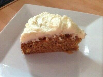 How to bake a carrot cake. Carrot Cake - Step 8