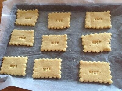 How to cook a baked treat. Nice Biscuits  - Step 3