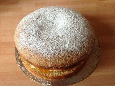 How to bake a ginger cake. Ginger Sponge - Step 5