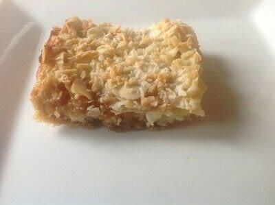 How to bake a bar / slice. 7th Heaven Bars - Step 5