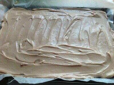 How to bake a bar / slice. Coconut Slice - Step 6