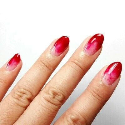 How to paint a marbled nail. Yield For No One - Step 4