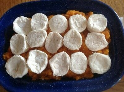 How to cook a vegetable dish. Sweet Potato Pie - Step 2
